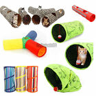 Pet Cat Tunnel Toys Outdoor Game Leopard Long Play Tunnel Kitten Rabbit Toys