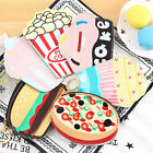 Cute Cartoon Coin Purse Icecream Cake Popcorn Zipper Change Wallet Card Holder01