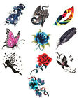 Waterproof Removable Temporary Tattoo DIY 3D Dragon Body Art sticker