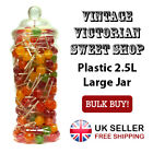 Vintage Victorian Wedding Party Sweet Buffet Candy Shop Plastic 2.5L Large Jars