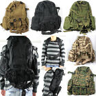 Outdoor 50L Military Tactical Backpack Rucksacks Sport Travel Camping Hiking Bag