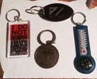 Lot of keychains-four-brand new-never used!