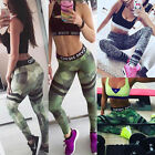 UK Women Sports Yoga Gym Wear Trousers Leggings Workout Running Fitness Pants