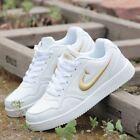 New Women's shoes Fashion Leather Shoe Casual Sneakers Shoes