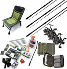 Total Carp Fishing Set - 2 or 3 Rod Option - Rods, Reels, Chair, Bait & More