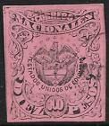 Colombia stamps 1868 YV 47A  CANC  VF