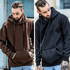 Men's Winter Hoodie Warm Hooded Sweatshirt Coat Jacket Outwear Pullover
