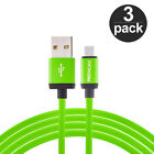 3X High Speed 10ft Micro USB Charging Charger Long Cable for Phones