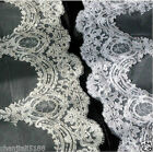 New 1T Cathedral White/Ivory Elegant Lace Edge Long Wedding Veil Accessories 3M