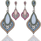 Women Vintage Retro Bohemian Boho Alloy Jewelry Long Drop Dangle Stud Earrings