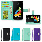 IZENGATE ID Wallet PU Leather Flip Case Cover Folio with Sta