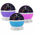 XMAS Gift  LED Starry Night Sky Projector Lamp Kids Star light Cosmos Master New
