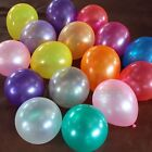 100 PCS Birthday Wedding Decor Baby Shower Party Pearl Latex Balloons 10""