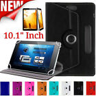 "For 10.1"" Android Tablet PC 360° PU Leather Case LOT Universal Protective Cover"