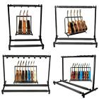 Kyпить 3/5/7/9 Triple/Five/Seven Multiple Guitar Bass Stand Holder Stage Folding Rack на еВаy.соm