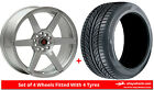 Alloy Wheels & Tyres 17'' Axe EX24 For VW Beetle [Mk3] 11-16