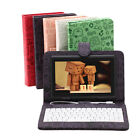 "iRULU 7"" Android 4.4 Quad Core Cam Tablet PC 8GB 1.5GHz WIFI Black w/ Keyboards"