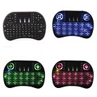 i8 2.4GHz Backlit Remote  Keyboard Touchpad Air Fly Mouse for PC TV Android