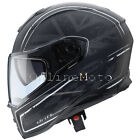 Caberg Drift Armour Black/Silver Motorcycle Helmet