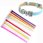 DIY Accessory PU Leather Bracelet charms wristband Fit 8mm slide letter charms