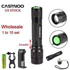 1 to 10 Set 6000 LM CREE T6 LED Flashlight Lamp Torch 18650 Battery+Charger KJ