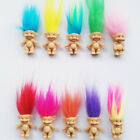 5pcs/Set Lucky Troll Doll Leprechauns Minifigure Toy Cake Topper Decoration Cute