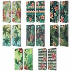 HEAD CASE DESIGNS TROPICAL PRINTS LEATHER BOOK WALLET CASE FOR APPLE iPHONE 5C
