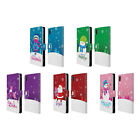 HEAD CASE DESIGNS CHRISTMAS TIDINGS LEATHER BOOK WALLET CASE FOR SONY XPERIA Z2