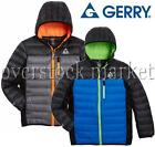 NEW BOYS GERRY DOWN SWEATER JACKET! HOODED DOWN COAT W/ KNIT SIDE PANELS VARIETY