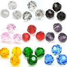 Round Faceted Crystals Cut Glass Beads for Jewellery Making 3mm 4mm 6mm 8mm 10mm