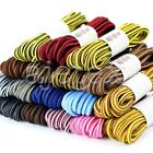 1pcs Neuf Shoelaces Lacets Rond Coloré Stripe Shoestrings Replacement 120*0.4cm