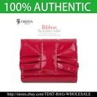 [OMNIA]Korea Crystal Ladies Wallet Genuine Leather Trifold Purse ID Card -KR345S image
