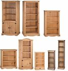 Corona Small Medium Large Bookcase Solid Pine Shelves DVD by Mercers Furniture®
