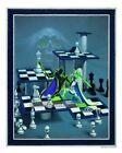 Stalemate Signed Print Den Beauvais Pearl