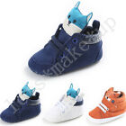 Cotton Soft Sole Crib Shoes Infant Toddler Baby Boy Girl Sneaker Newborn to 18 M