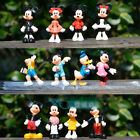 12pcs DISNEY Mickey Mouse Clubhouse PVC Figure Doll Toy kid gift Play Cake
