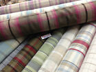 THICK wool effect upholstery , curtains tweed ,tartans, checks fabric 140cm wide