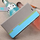 For Sony Xperia Z2 Z3 M4 Z5 Mini Luxury Flip Cover Stand Wallet PU Leather Case