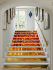 3D Yellow woods 355 Stair Risers Decoration Photo Mural Vinyl Decal Wallpaper AU