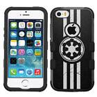 Star Wars #Imperial Hybrid Rugged Impact Armor Case for iPhone 5s/SE/6/6s/7/Plus $9.95 USD