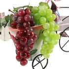 Внешний вид - Lifelike Artificial 36 Grapes Plastic Fake Fruit Bunch Food Home Decoration New
