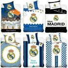 OFFICIAL REAL MADRID SINGLE & DOUBLE DUVET COVERS FOOTBALL BEDDING