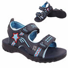 Boys infants kids Aviator Velcro Toddler Children Smart Holiday sandals slipper