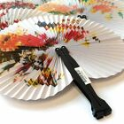 ORIENTAL HANDHELD PAPER FAN CHINESE NEW YEAR ASIAN THEMED PARTY WEDDING FAVOUR