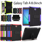 New Hybrid Shockproof Stand Hard Case Cover For Samsung Galaxy Tab A 8.0 SM-T350