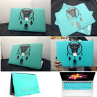 "For 2016 Macbook PRO 13""15""Touch Bar Matte Rubberized/Mint Blue Hard Case Cover"