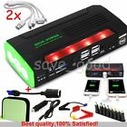 USB 68800mAh Car Jump Starter Booster Power bank Battery Phone Charger Emergency