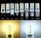 Dimmable G4/G8/G9/E11/E12/E14/E17/BA15D 3.5W LED Light BULB 80-3014SMD 110/240V