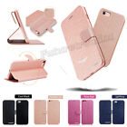 Brand New Luxury Magnetic Silk Wallet Film PU Leather Case Cover For Iphone 7