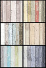 Wood Effect Wallpaper Distressed Wooden Grain Surf Beach Hut  Vinyl 6 Colours